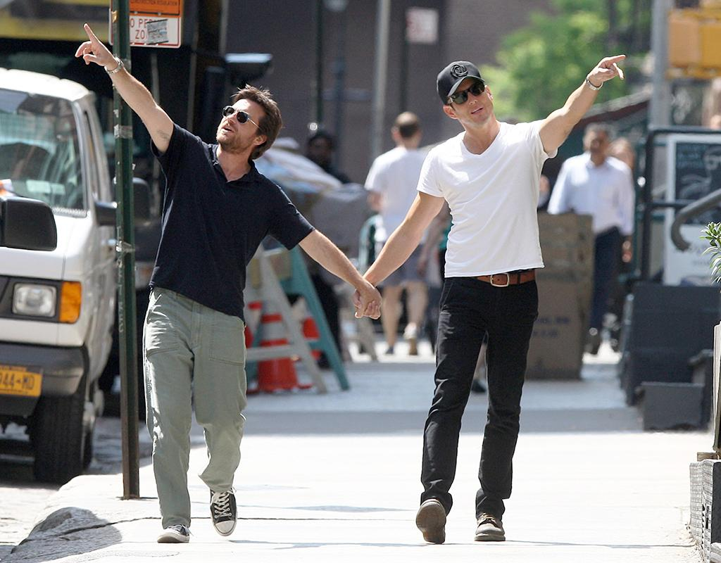 Jason Bateman & Will Arnett Hold Hands In NYC