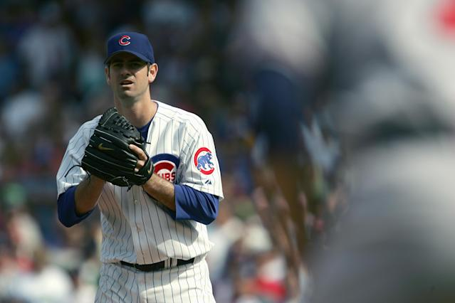 Mark Prior will serve as bullpen coach for the Los Angeles Dodgers in 2018. (Getty Images)
