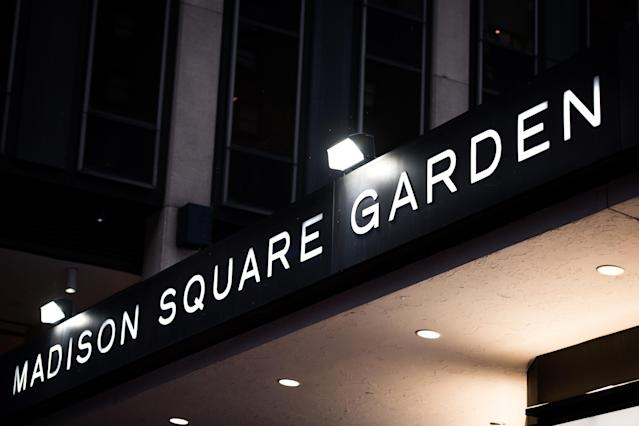 Madison Square Garden has reportedly been using face-scanning technology, unbeknownst to fans and customers. (Getty/Bloomberg)
