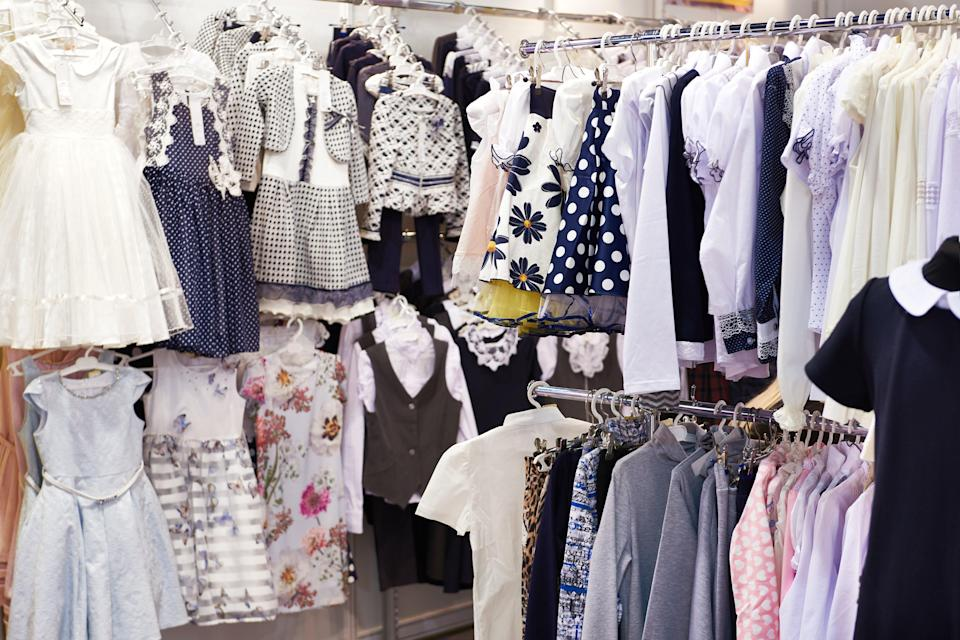 <p>Clothing retailers increased prices as shops reopened from 12 April</p> (Getty Images/iStockphoto)