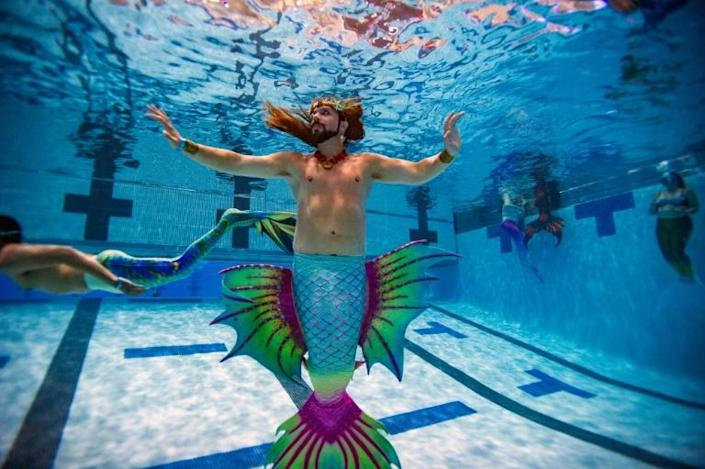 Many merfolk spend thousands of dollars on colourful and intricate outfits, much of that often going into custom-made tails of silicone or foam and fabric