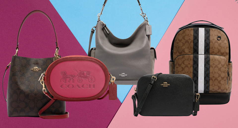 The Coach Outlet is having a massive sale and deals start at just $6 — but for only for today! (Photos via Coach Outlet)