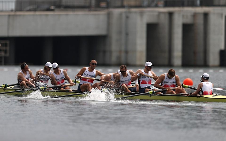 The men's eight won bronze on Friday morning, but Team GB have failed to meet expectations at Tokyo - Getty Images