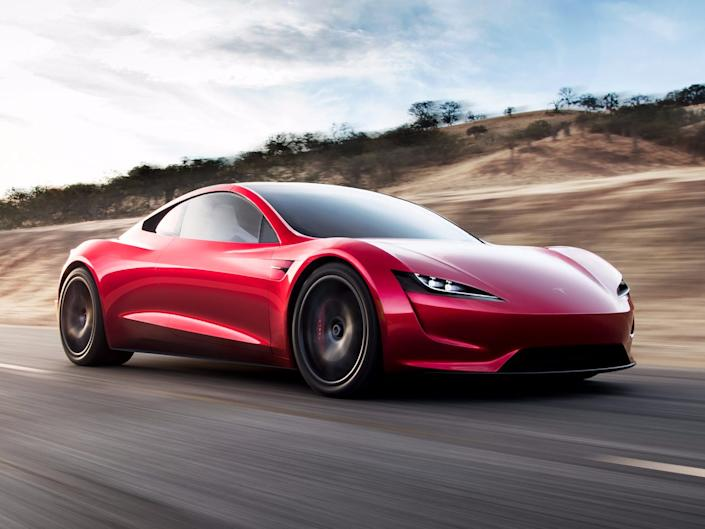 The new Tesla Roadster.
