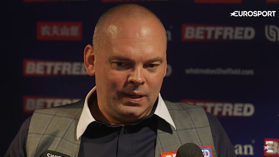 Bingham, 44, fumed at snooker snail Selby's slow play after his gutting semi-final defeat