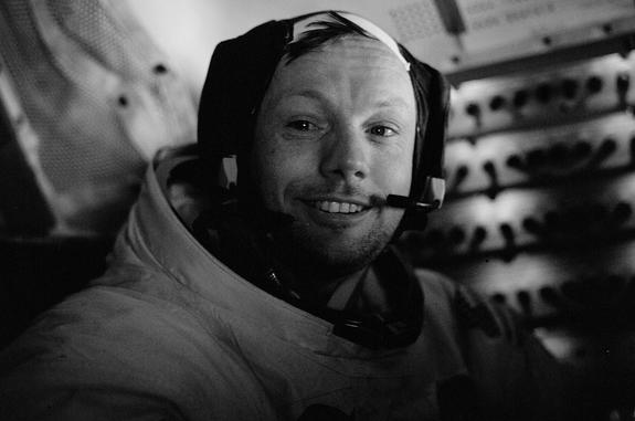 Neil Armstrong's First Words: One Small Fib or Giant Leap by Brother?