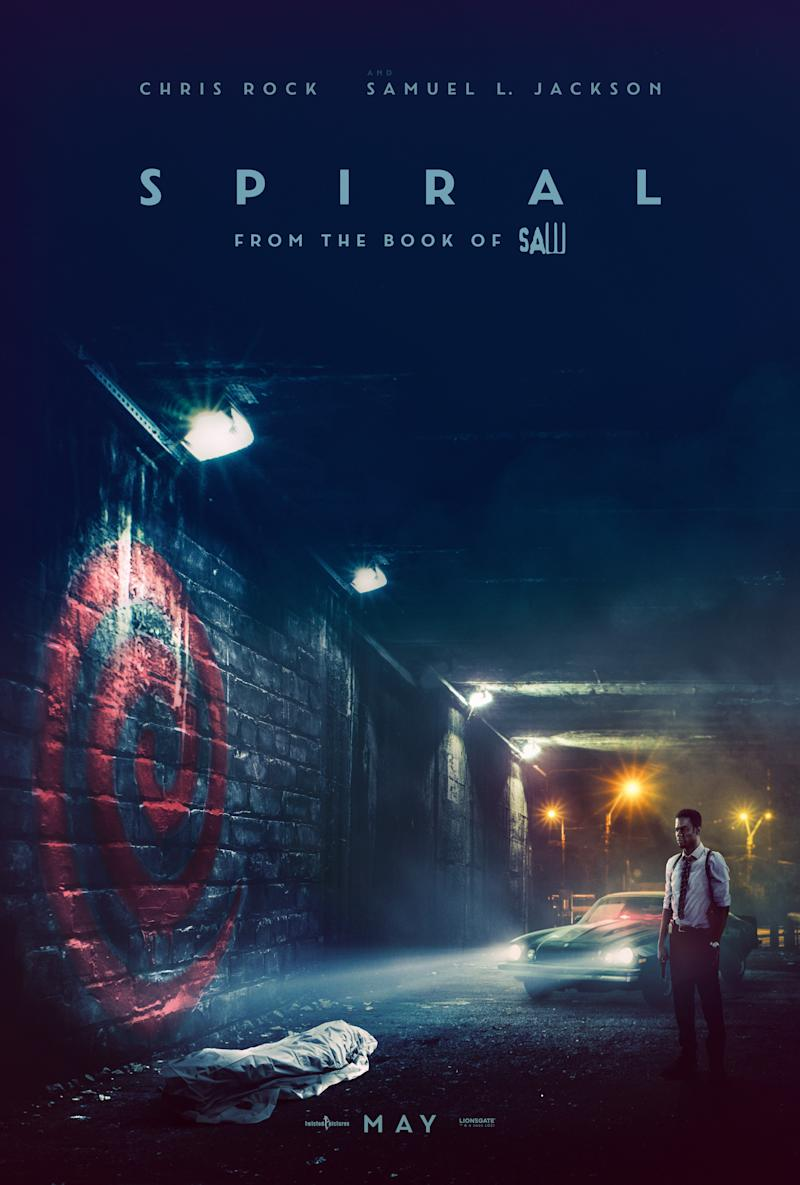 Chris Rock features on the new international poster for <i>Spiral: From The Book Of Saw</i>. (Lionsgate)