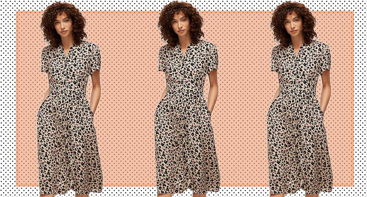 The animal print dress to snap up before it sells out. (John Lewis & Partners)
