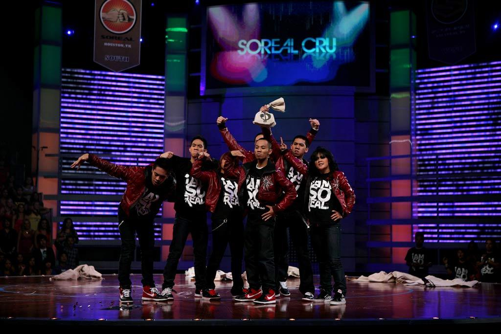YAHOO! TV: What's next for you guys? *** SOREAL CRU: We're still going to be on top, changing the world, and just keep on dancing and never stopping.