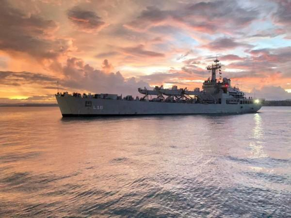 During the visit, the ship will undertake PASSEX and joint patrolling in Malagasy waters along with the Malagasy Navy on March 24.