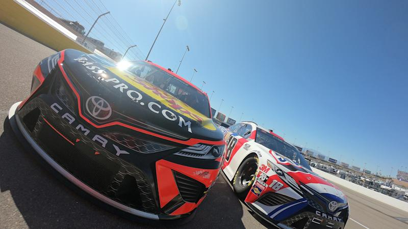 NASCAR at Las Vegas results: Kurt Busch sneaks into next round with caution-aided win