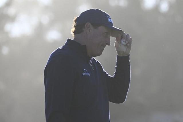 PGA: AT&T Pebble Beach Pro-Am - First Round