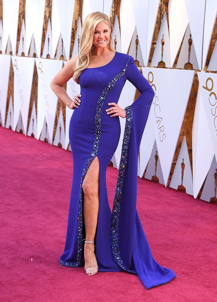 <p>Nancy O'Dell attends the 90th Academy Awards in Hollywood, Calif., March 4, 2018. (Photo: Steve Granitz/WireImage) </p>