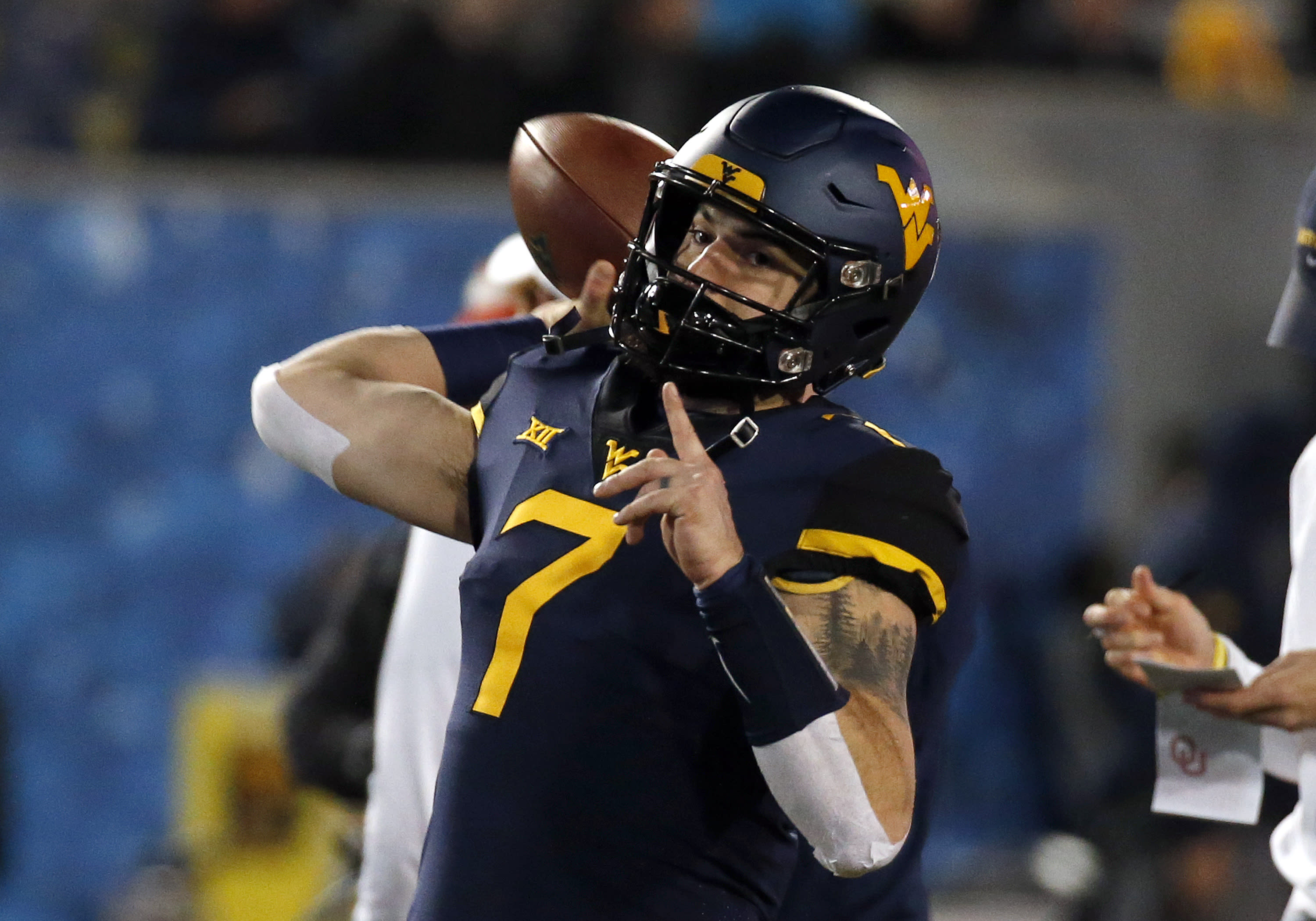 Will Grier: West Virginia QB skips Camping World Bowl against Syracuse - Yahoo Sports
