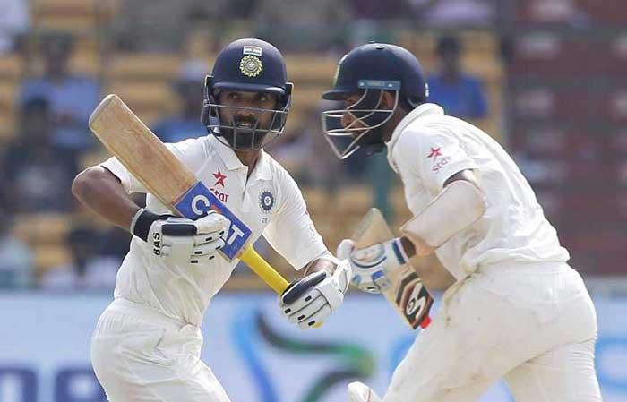 Pujara, Rahul give India 126-run lead vs Australia in Bengaluru Test