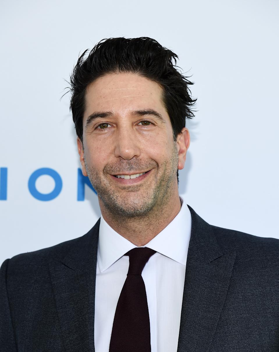 Schwimmer said he remains closest to former co-star Matt LeBlanc. (Photo: Amanda Edwards/Getty Images)