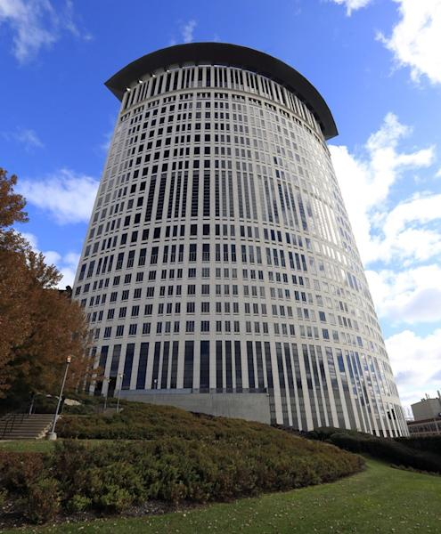A general view of the U.S. District Courthouse in Cleveland