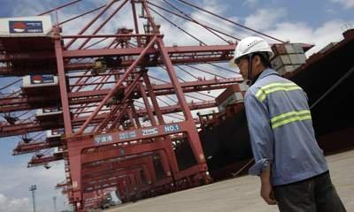 China In Trade Slump As Imports Dive 13.8%