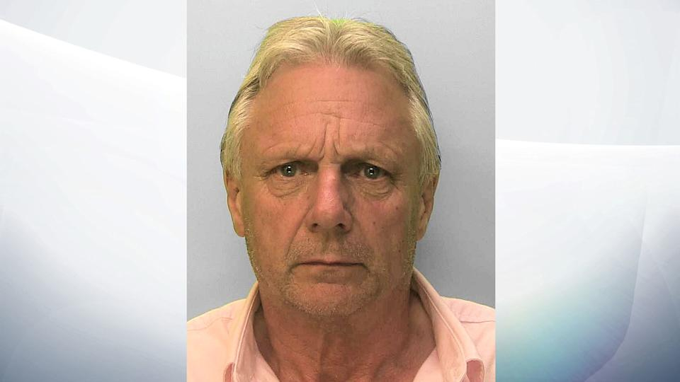 Richard Robinson has been jailed for 10 years after duping women into giving him money. Pic: Sussex Police