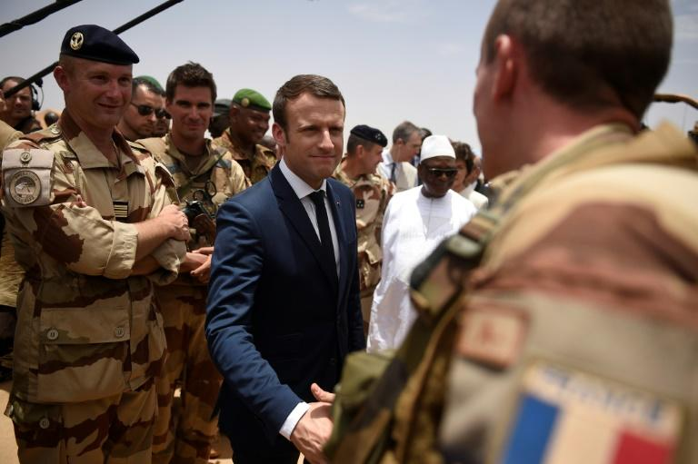 Since becoming president in May, Macron has paid two visits to Mali, home to a 4,000-strong French regional counter-terrorism force
