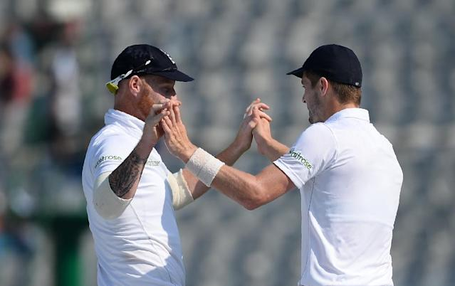 England will be without talismanic all-rounder Ben Stokes and pace bowler Chris Woakes for the remainder of the Australian ODI series as they continue to recover from hamstring and thigh injuries respectively (AFP Photo/SAJJAD HUSSAIN)