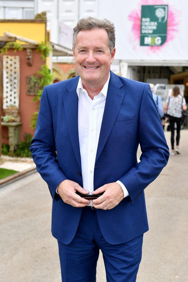 Piers at the Chelsea Flower Show in May 2018 (Photo: Jeff Spicer via Getty Images)