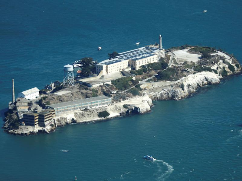Alcatraz was once America's most secure prison