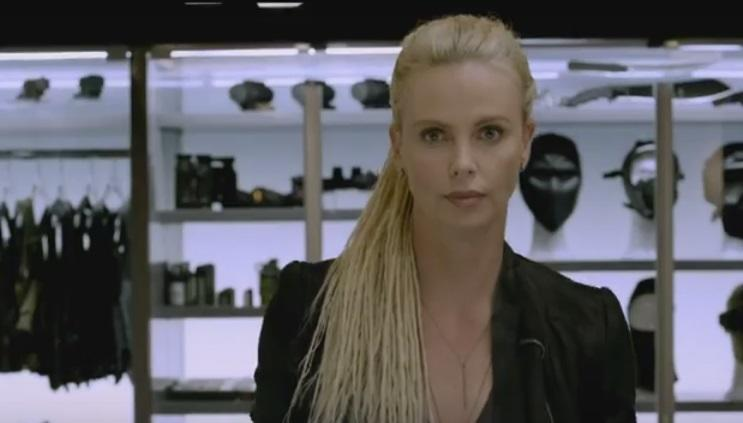 Charlize Theron in 'The Fate of the Furious' (credit: Universal)