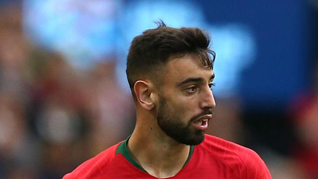 The first image of Bruno Fernandes as a Manchester United player emerged on his agent's Instagram account on Thursday.