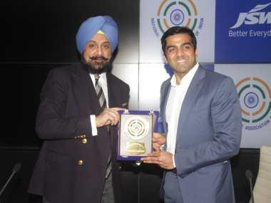 NRAI President Raninder Singh says shooting federation will 'slowly wean itself off foreign chief coaches'