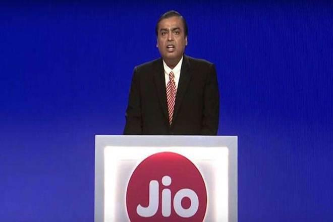 Mukesh Ambani, chairman, RIL, on Monday said at the company's 42nd AGM that Jio Fibre's premium customers will be able to watch new movies in their living rooms the same day these movies are released in theatres. (PTI Photo)