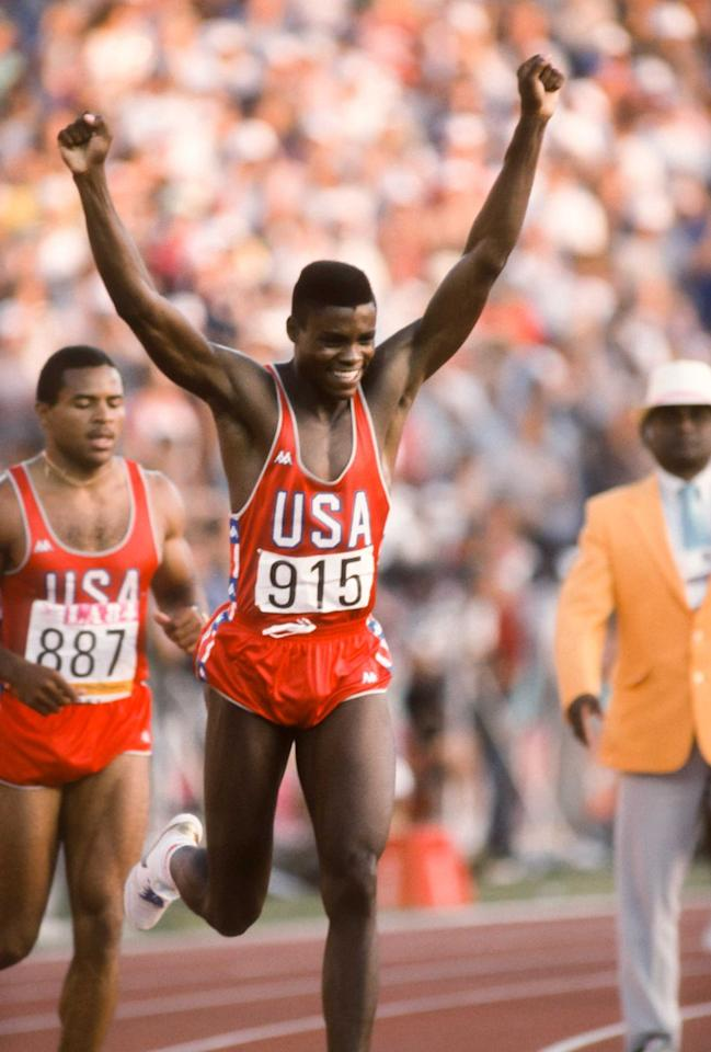 """<p>During the height of his fame in the '80s and '90s, Carl Lewis was known as much for his rudeness and failure to score endorsements as for his track-and-field prowess. But he will go down in history as a streaker: He is one of only four people to win gold in the same event (in his case, the long jump) in four consecutive Olympics. He is also the first Olympian to win gold in the 100-meter race two games in a row. Beyond his Olympic streaks, he also won an astounding 65 consecutive long-jump competitions over 10 years.<em>[<a href=""""https://www.runnersworld.com/runners-stories/a26559285/olympic-athlete-tracks-monday-motivation/"""" target=""""_blank"""">Running Tracks of the Legends</a>]</em></p>"""