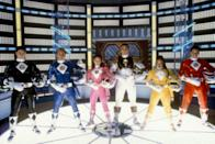 <p>Go, go Power Rangers! The pink Power Ranger was always the best, so if you're dressing as Amy Jo Johnson's crime-fighting hero, then you'll need pink spandex with the white diamond patterns, white gloves, a helmet (or ski goggles), a belt, and some powerful poses.</p>