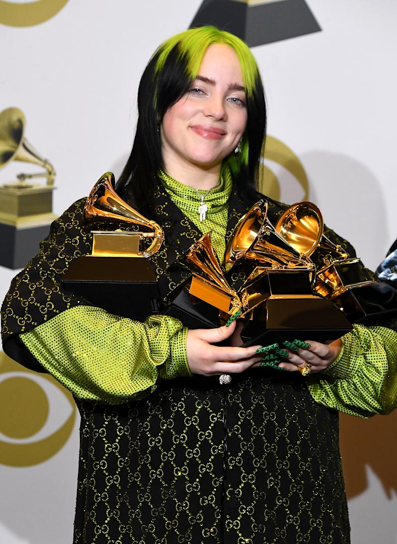 Billie Eilish kicked off the North American leg of her tour with a powerful message about body shaming. (Photo by Steve Granitz/WireImage)