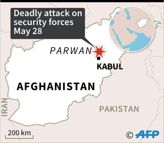 Seven members of the Afghan security forces were killed Thursday in an attack officials blamed on the Taliban, the first deadly assault since a three-day ceasefire ended (AFP Photo/)