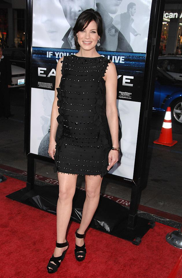 """<a href=""""http://movies.yahoo.com/movie/contributor/1804504037"""">Michelle Monaghan</a> at the Los Angeles premiere of <a href=""""http://movies.yahoo.com/movie/1809955918/info"""">Eagle Eye</a> - 09/16/2008"""