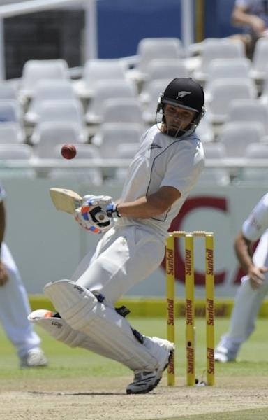 New Zealand's BJ Watling avoids a bouncer on day three of the first Test in Cape Town on January 4, 2013. The Test ended inside three days in favour of the rampant hosts. While the South Africans were given three days off before reassembling in Port Elizabeth on Tuesday, the tourists were in the nets the day after the Test ended in an attempt to lift their game before the final match of the series