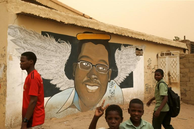 Mural portraits of slain demonstrators that became one of the symbols of the popular uprising that toppled veteran Sudanese president Omar al-Bashir, are now under threat as the military attempts to whitewash its memory, the protest movement says