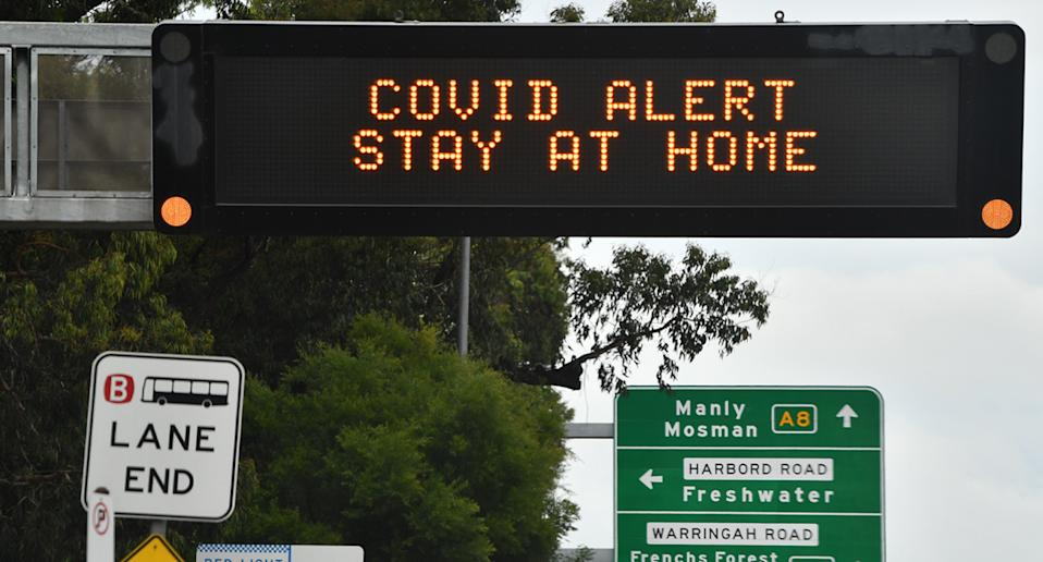 Residents across Sydney's Northern Beaches are required to stay home over Christmas. Source: AAP