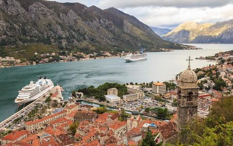 Kotor is said to be struggling from the impact of its cruise ship popularity - Credit: Getty