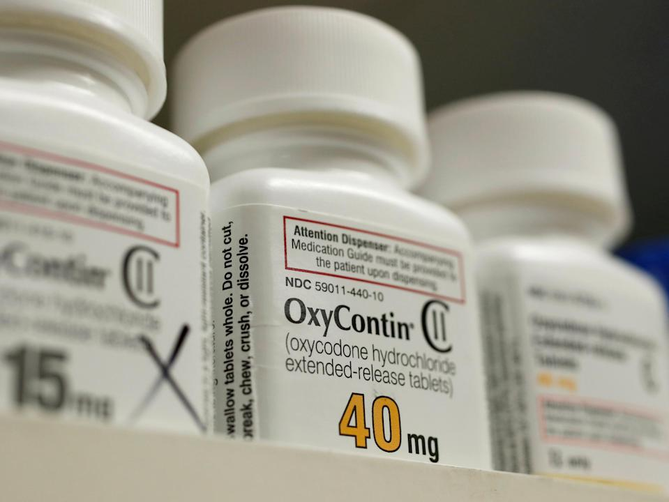 Image: OxyContin (George Frey / Reuters file)