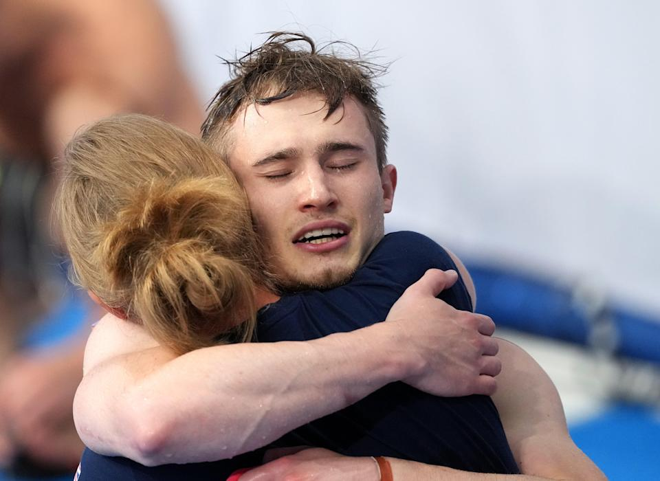 Jack Laugher now has Olympic gold, silver and bronze medals in his collection (Martin Rickett/PA) (PA Wire)