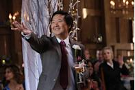 <p>While Stephen Hawking might be Brittany's biological dad, Ken Jeong joined the show in its final season as Brittany's stepfather, Pierce Pierce. </p>