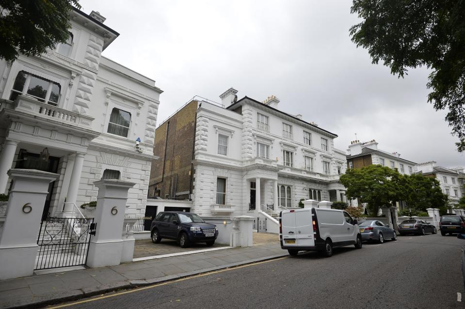Property values in The Boltons in SW10 have plunged £13m in a year (Hannah McKay/PA Images)