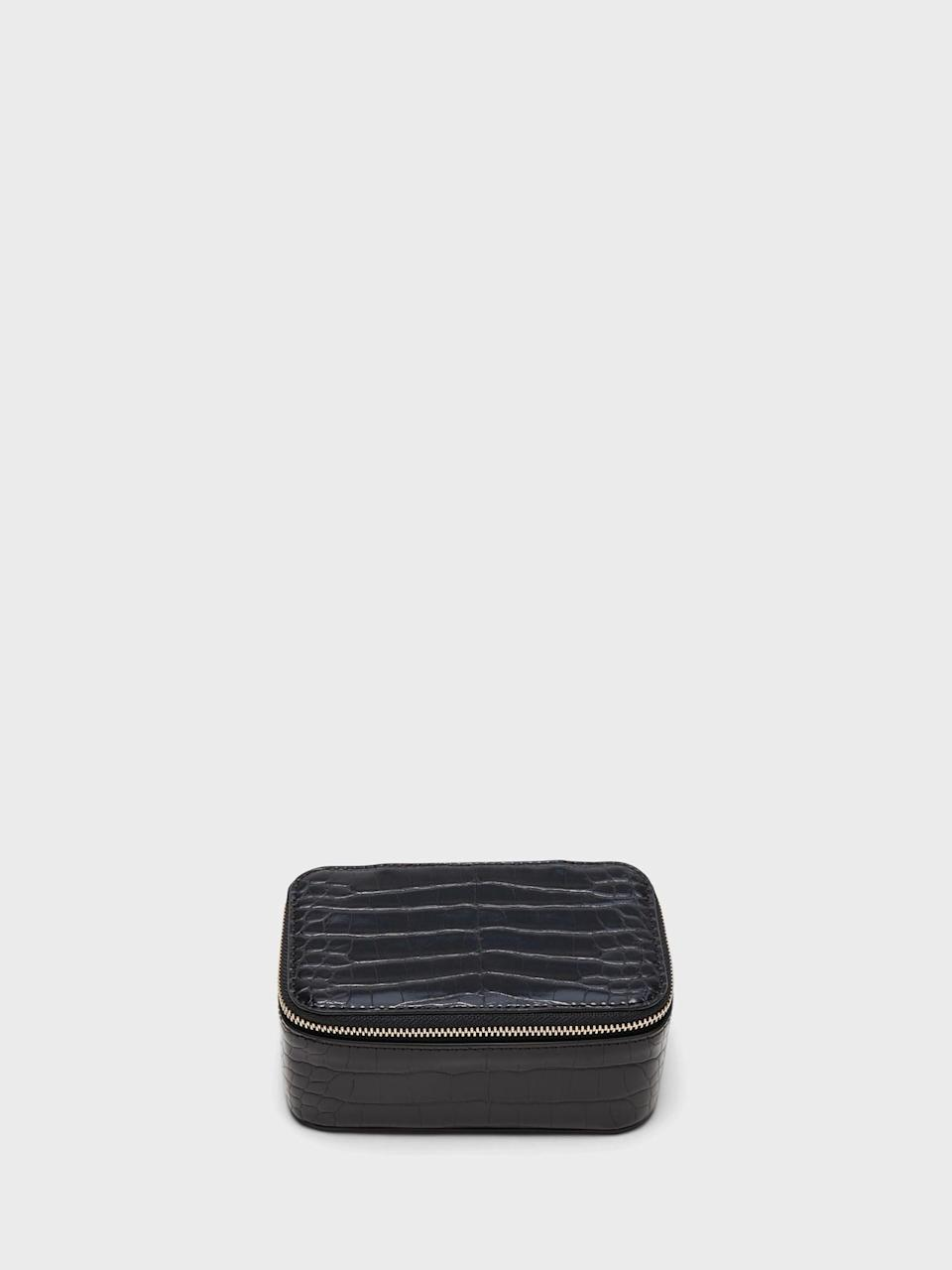 <p>This <span>Banana Republic Croc Jewelry Case</span> ($40, originally $68) is the perfect stocking stuffer to help organize that unruly bedside table!</p>