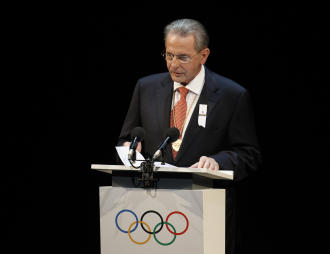 IOC President Jacques Rogge is not acknowledging the Munich massacre at London's Opening Ceremony. (AP)