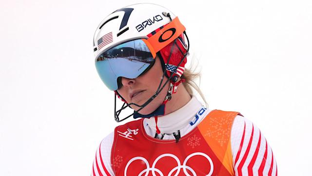 Her final Olympics may have ended in disappointment in the combined, but Lindsey Vonn has trained her sights on another achievement.