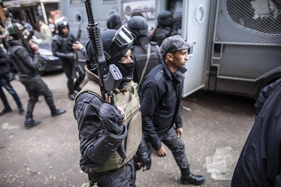 Egypt has tightened security after hundreds of its security forces have been killed in a spate of jihadist attacks since 2013 (AFP Photo/Mahmoud Khaled)