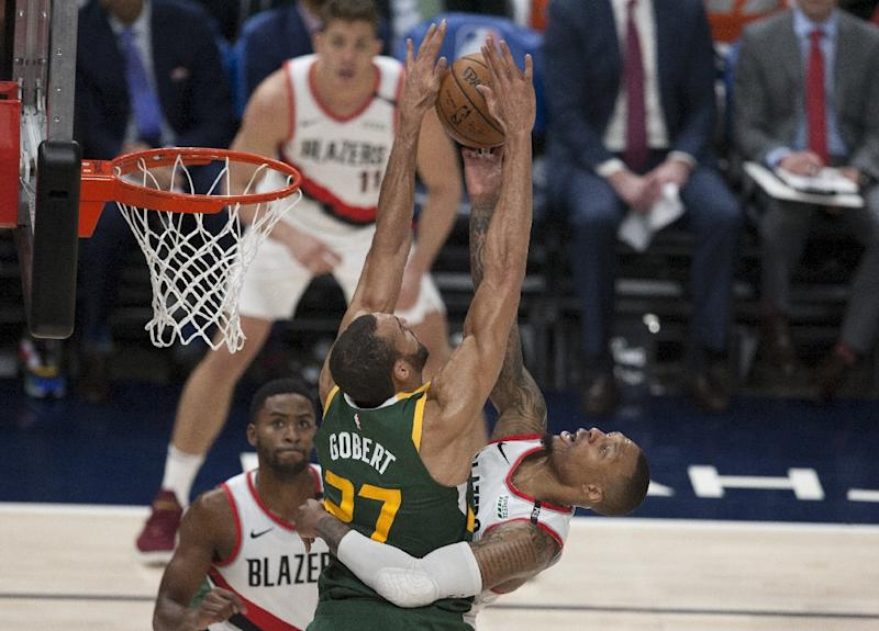 National Basketball Association star Rudy Gobert sheds a tear over All-Star snub