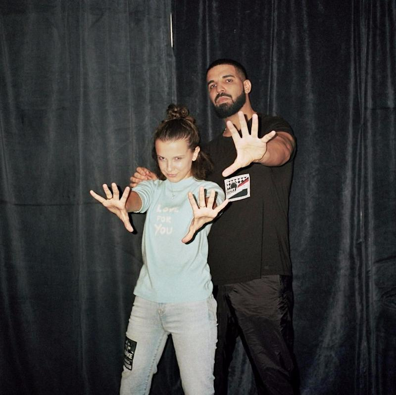 Drake Is Millie Bobby Brown's Biggest Fan in These Adorable Photos